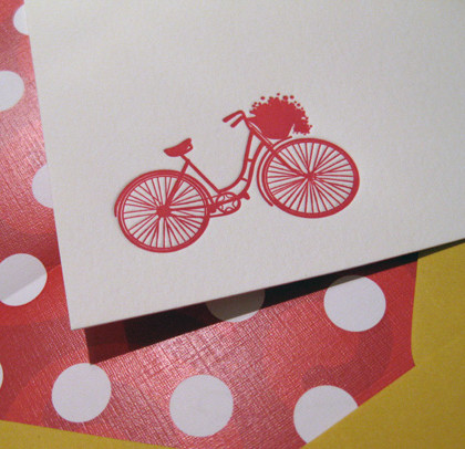 Bike Notecard