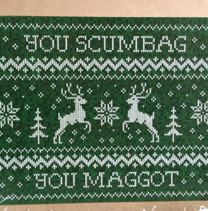 Scumbag Holiday Card