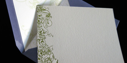 "Personalized Stationery ""J"""