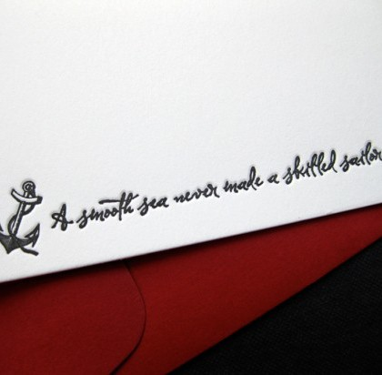 Skilled Sailor Quote